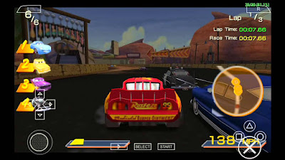 download Cars 2 Game PSP For ANDROID - www.pollogames.com