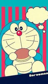 gambar Doraemon memakan dorayaki