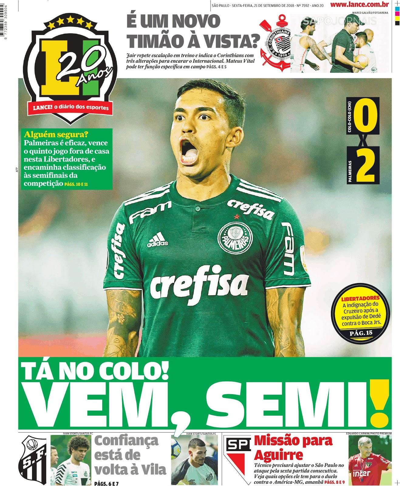 26649fe77b Espresso ⚽ Visitante perfeito  a façanha do Palmeiras na Copa Libertadores