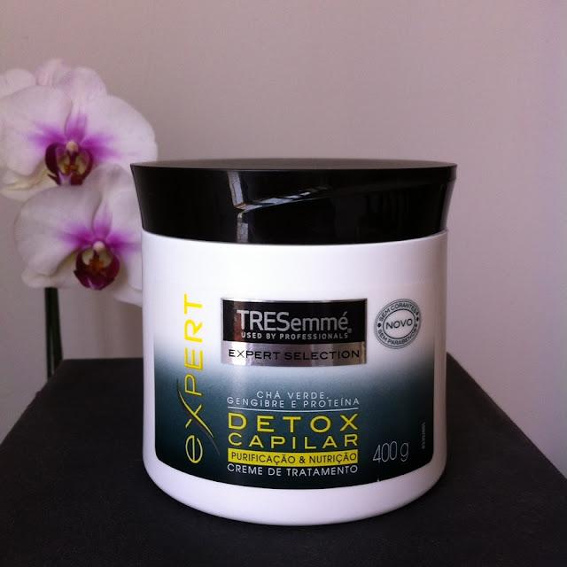 Resenha: Creme de Tratamento Detox Capilar - TRESemmé