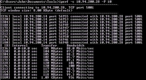 Cyber Security Memo: Free Network Performance Test tool - Iperf