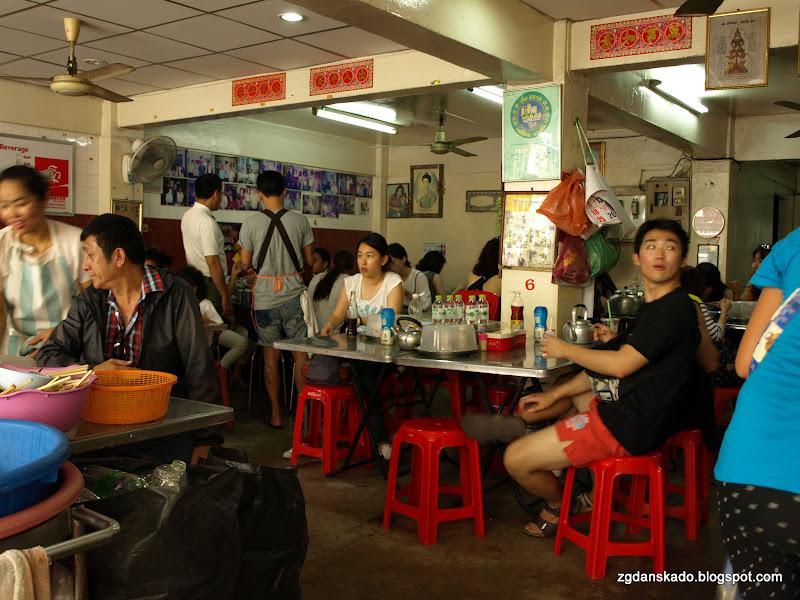 Bangkok - Bar z noodle soup