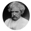 "Mark Twain quotes - ""Whenever you find yourself on the side of the majority,  it is time to reform (or pause and reflect)."""