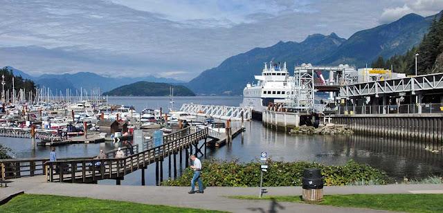 From Horseshoe Bay To Nanaimo