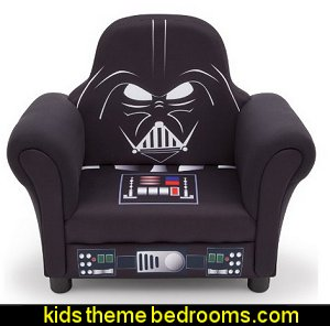 Star Wars Deluxe Upholstered Chair, Darth Vader