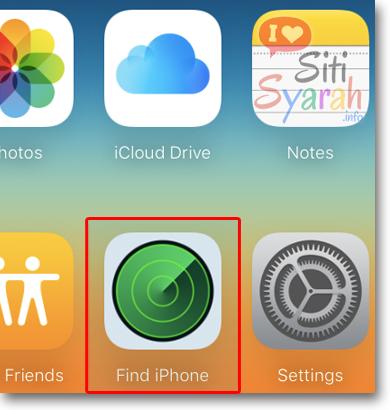 nonaktifkan icloud di iphone