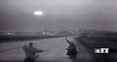 Faked Russian UFO landing.