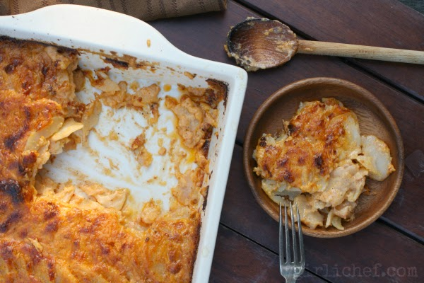 Adobo Potatoes Gratin