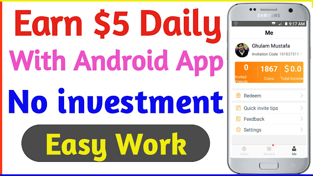 Earn Money With Android App