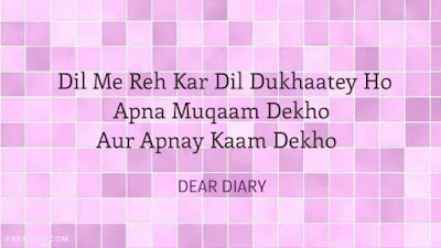 dear diary urdu poetry, love quotes, thoughts and silent words 27