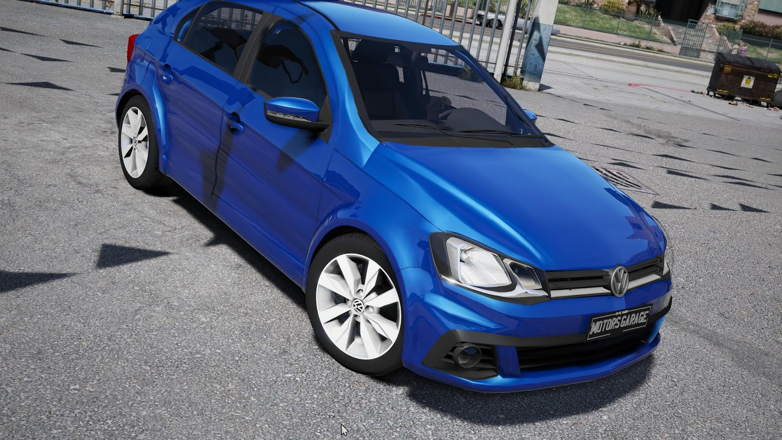 Gta v volkswagen gol g7 2017 motors garage modding studio for Garage volkswagen paris 15