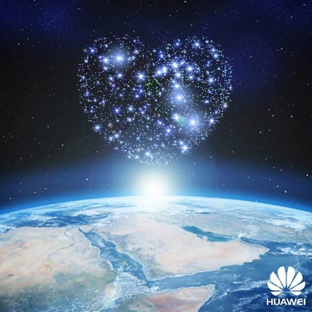 Liebesgrüße aus dem Weltall | Huawei hat ein Herz für Valentins-Fans
