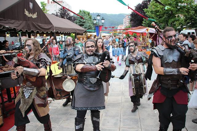 Feria medieval de las fiestas de Arteagabeitia Zuazo