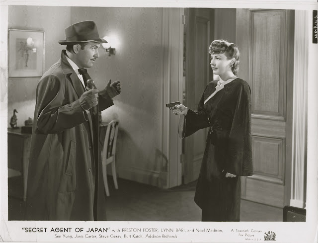 Image result for images of lynn bari in secret agent of japan
