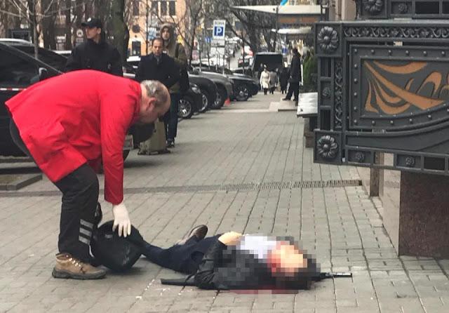 Denis Voronenkov morto em Kiev