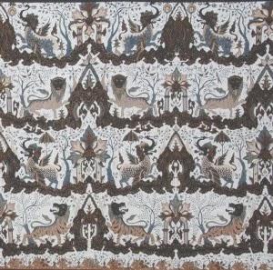 Batik Cirebon Motif Singapayung