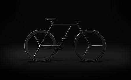 Baik. Una bicicleta de Ion Lucin