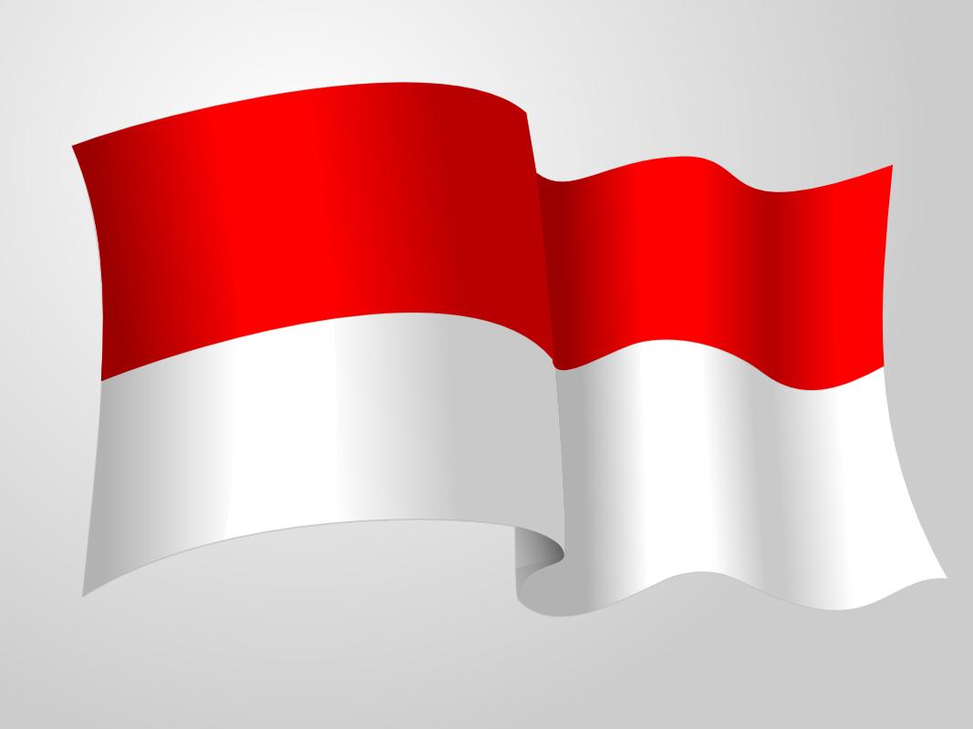 Gambar Bergerak Bendera Merah Putih - Gambar V
