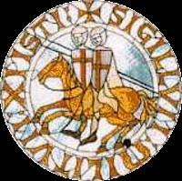 «Templarsign» de İrish Masonic Jewels - İrish Masonic Jewels. Disponible bajo la licencia Dominio público vía Wikimedia Commons - https://commons.wikimedia.org/wiki/File:Templarsign.jpg#/media/File:Templarsign.jpg
