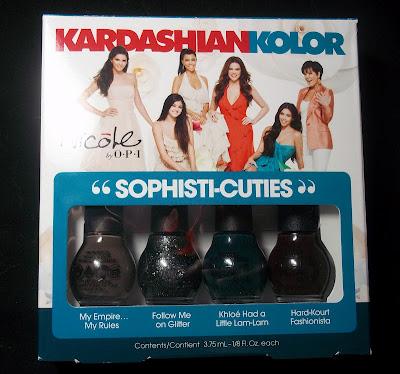 Nicole by OPI Sophisti-Cuties Kardashian Kolor Minis
