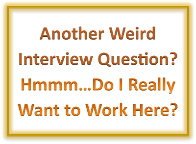 How to Answer Weird Job Interview Questions [Shy Job Seeker Blog]