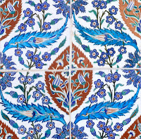 Decorative Islamic tile