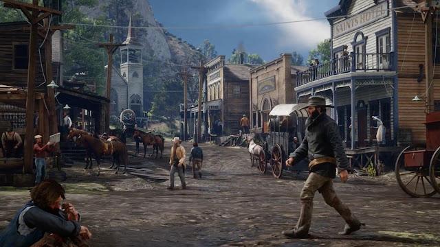 أسلوب اللعب داخل Red Dead Redemption 2 سيتأثر بجميع العوامل الطبيعية و هذا مثال واضح ..