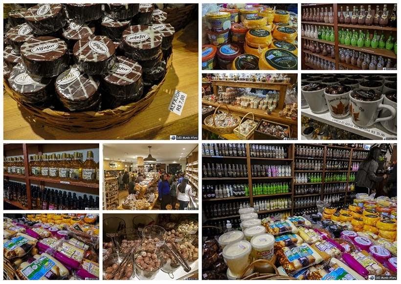 Fábrica e loja de chocolate Spinassi - City Tour em Campos do Jordão