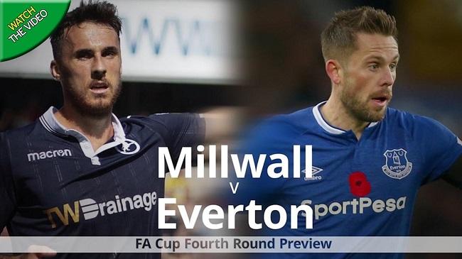 Cuplikan Gol Millwall vs Everton 3-2 Pada Piala FA