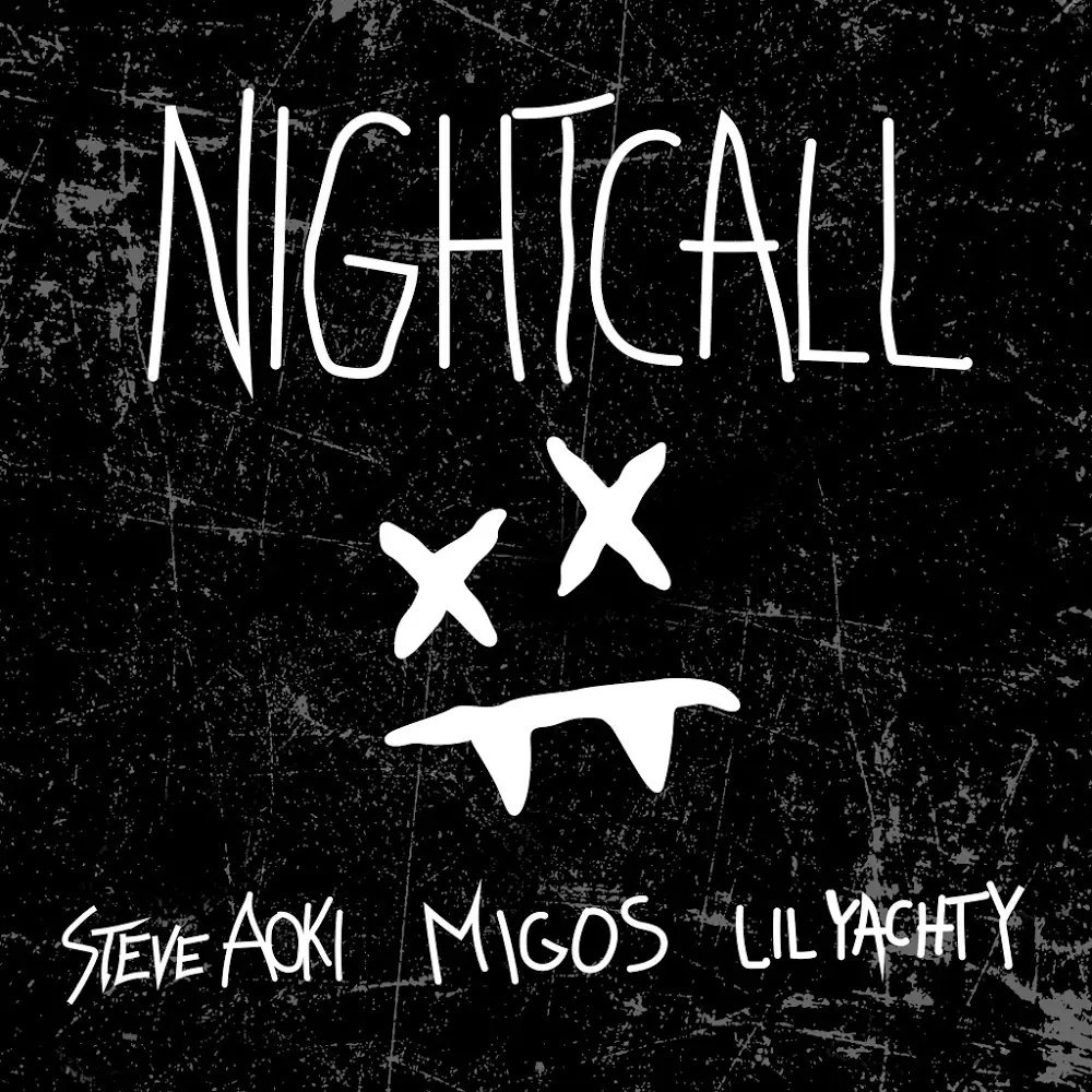 Steve Aoki - Night Call (feat. Lil Yachty & Migos) - Single Cover
