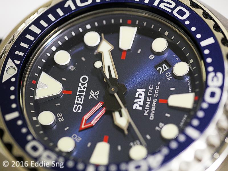 Tick Tock Forever: Seiko Prospex Kinetic GMT PADI Edition