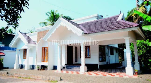 3 bedroom house plans in kerala single floor, ow cost house in kerala with price