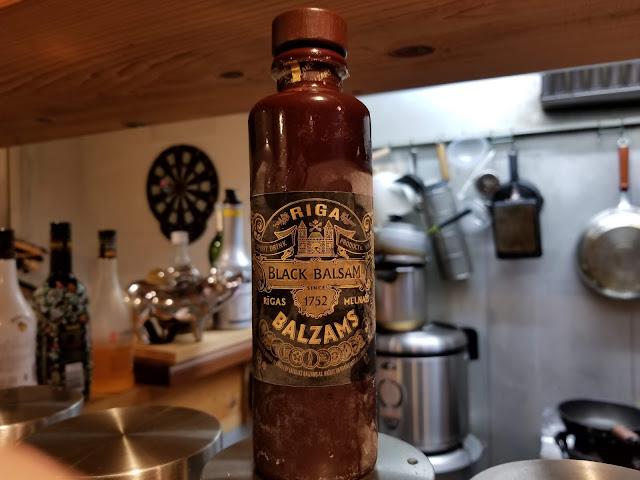 BLACK BALSAMのボトルの画像
