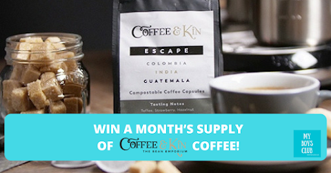 Win a month's supply of speciality coffee from Coffee & Kin! (REVIEW)