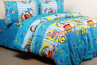 Contoh Seprei Motif Doraemon - Kamar Anak 200169