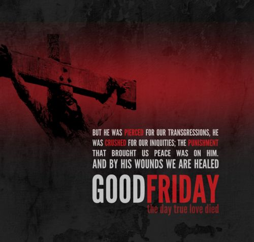 Good Friday sayings 2017