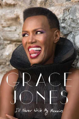 grace jones, i'll never write my memoirs, book cover