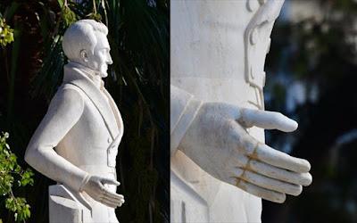 Ναύπλιο: Επιδιορθώθηκε η ζημιά στο άγαλμα του Ιωάννη Καποδίστρια