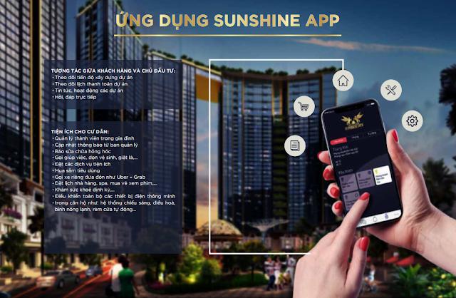Ứng dụng Sunshine App dành riêng cho cư dân Sunshine