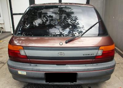 Eksterior Toyota Starlet Kapsul Tipe XL