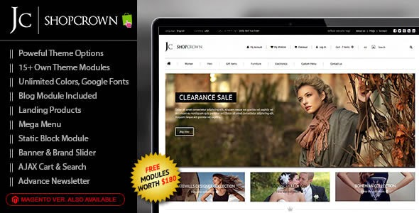 clothes store eCommerce template