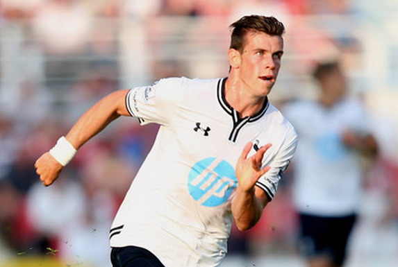 Gareth Bale has not played for Tottenham since their friendly game against Swindon last July