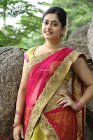 Actress Ronika in Red Saree ~  Exclusive celebrities galleries 041.JPG
