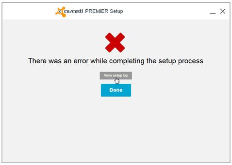 حل مشكل الرسالة عدم القدرة على تثبيت برنامج افاست