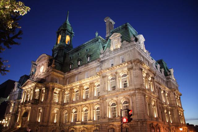 Hôtel de Ville em Montreal
