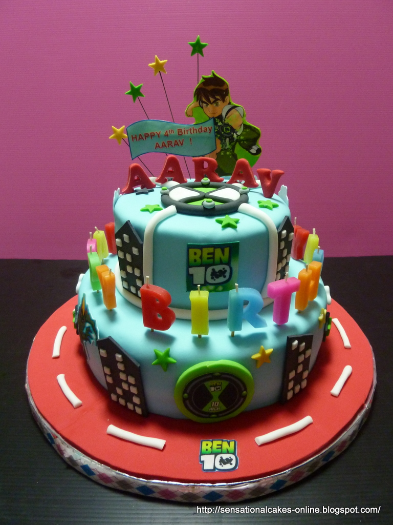 The Sensational Cakes 3d Ben 10 Cake Singapore 2 Tier