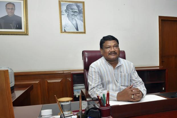 Union tribal minister Jual Oram