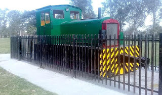 Villa Ocampo: acondicionan la locomotora cañera