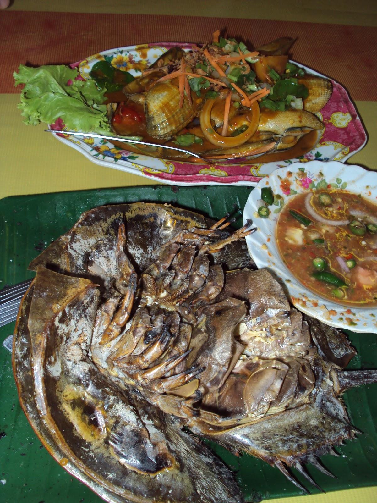 Perlis Homestay : Makanan eksotik di Medan Ikan Bakar