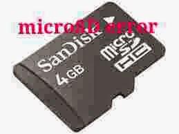 Cara Memperbaiki Micro SD / Kartu memory card yang Rusak tidak terdeteksi Dan Terbaca